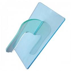 Кельма прямоугольная (140*280*3 мм) для нанесения жидких обоев